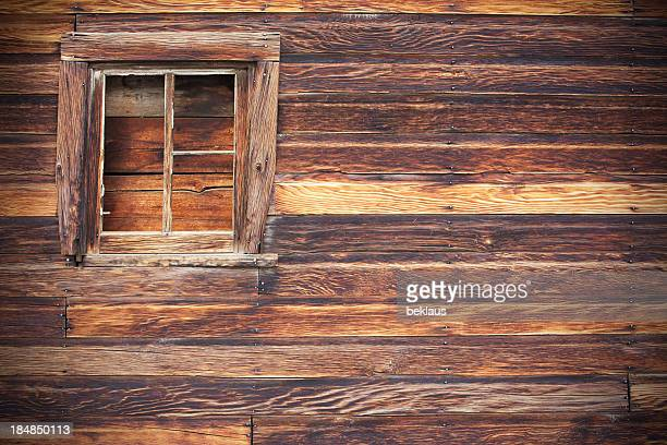 Old Barn Wall and Window