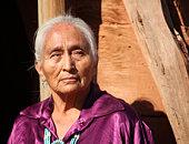 Old Beautiful Elderly Navajo Woman