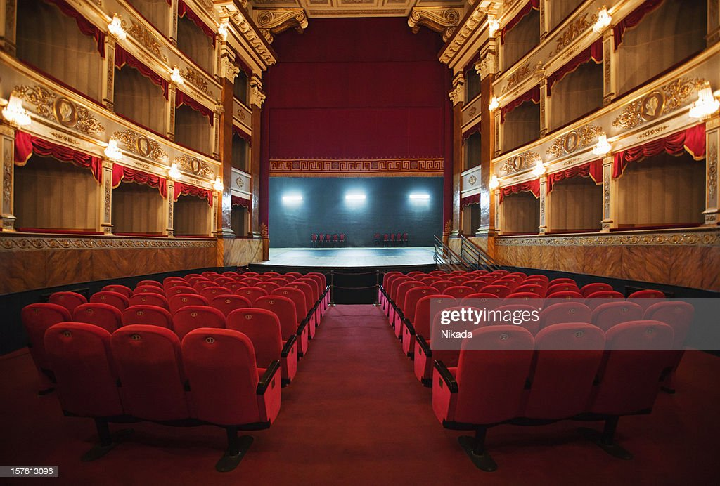 old beautiful theatre : Stock Photo