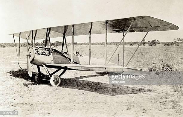 Old Bi-Flugzeug