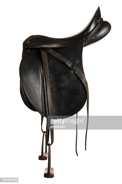 old black saddle