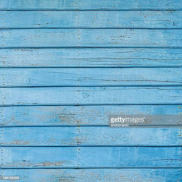 古い木製の背景。青ボード