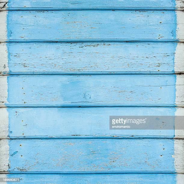 Old blue wooden board background.