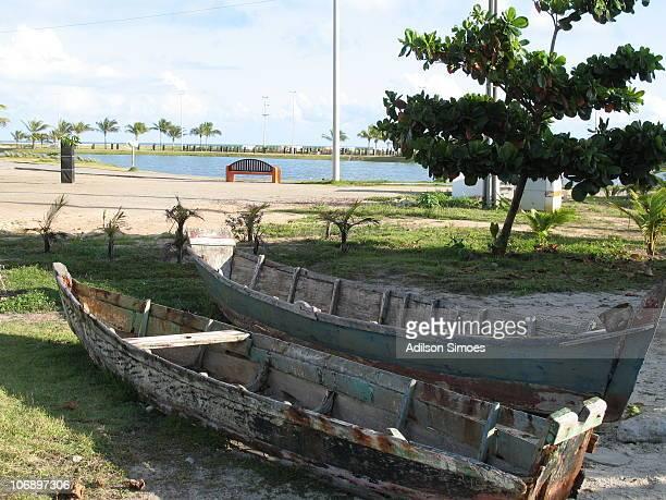 Old Boats at Aracaju Acquarium
