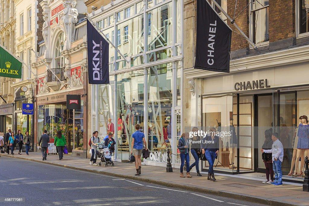 Old Bond Street, Mayfair, London