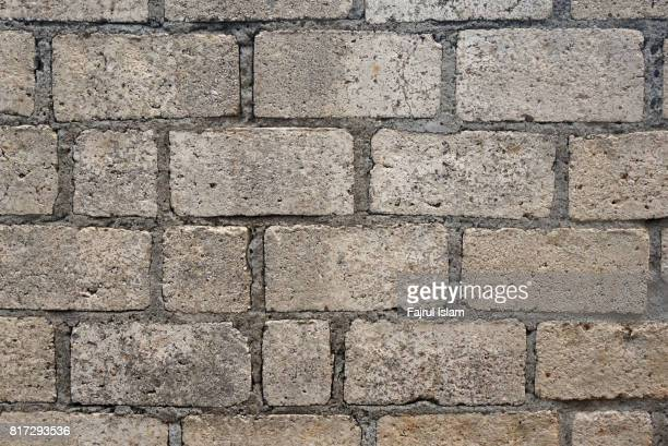 Old brick wall background textured