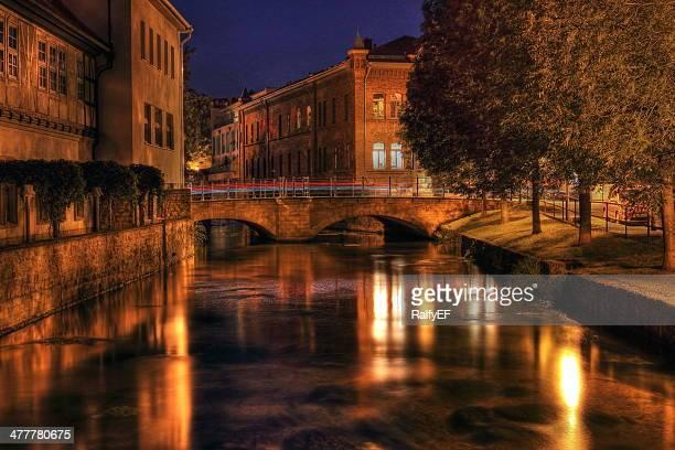 Old bridge at Night