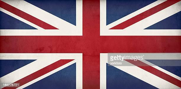 Alte britische Flagge Union jack