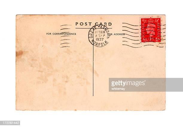 Old British postcard - reign of George VI