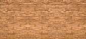 Close up old brown brick texture background