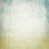 old brown paper background texture and blue sky view