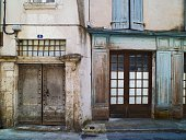 Old buildings in the medieval town of Souillac