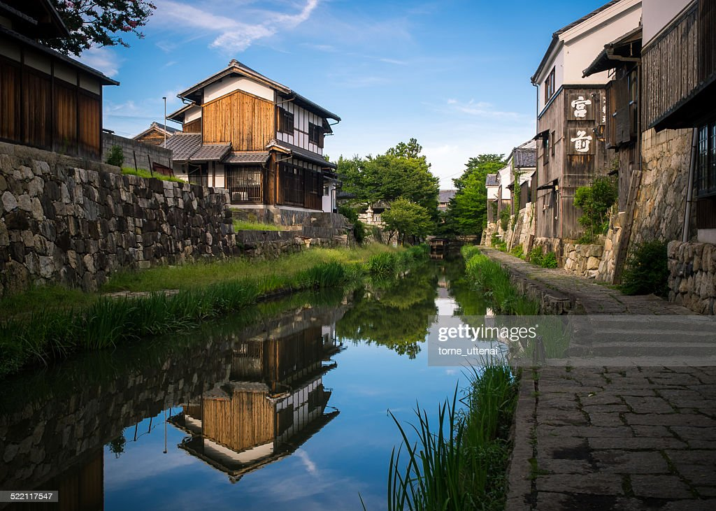 Old buildings of Oumi-Hachiman