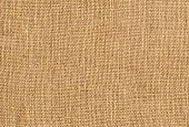 surface of the old burlap as a background