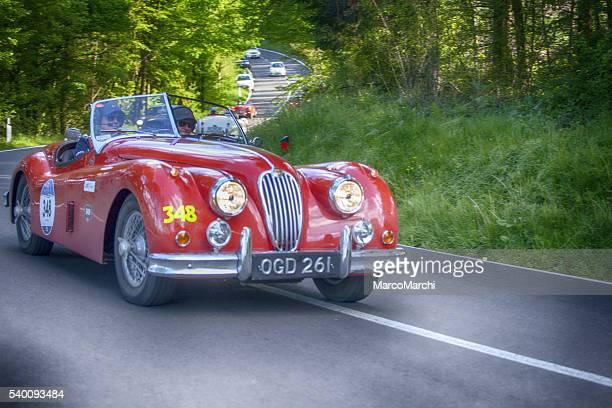 Altes Auto für Mille Miglia 2016