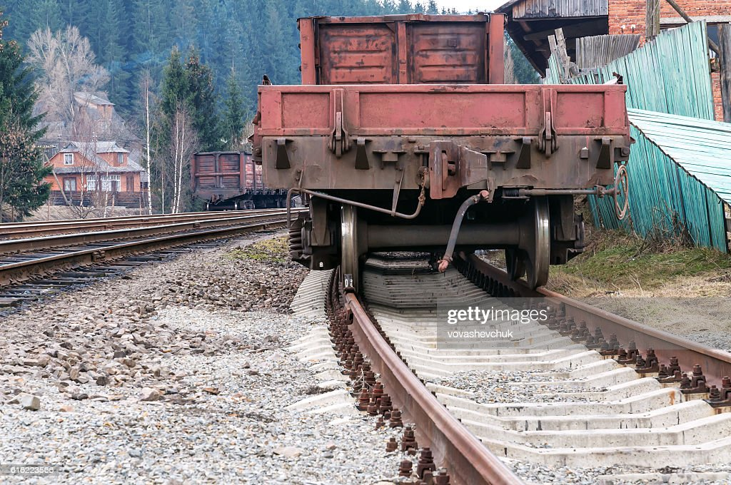 old cargo wagon : Stockfoto