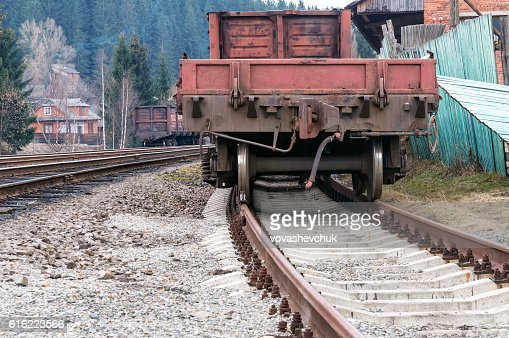 old cargo wagon : Stock-Foto