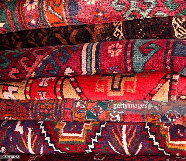 Alten Teppichen in Jaffa Flea Market