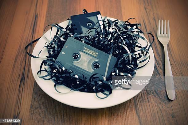 old cassette salad