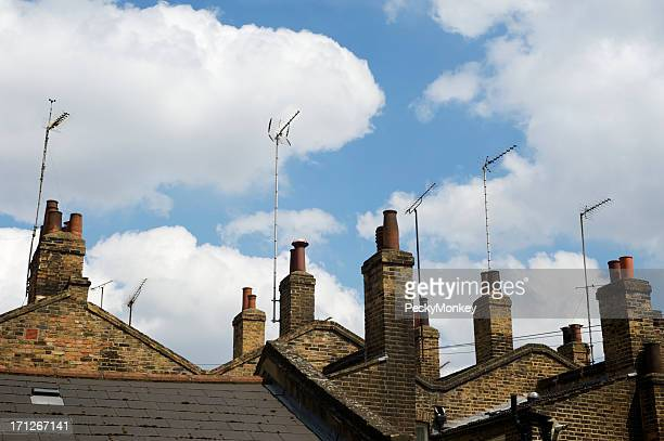 Old Chimney Stacks London Skyline