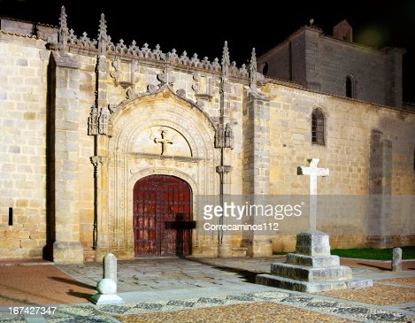 Old church by night : Stock Photo
