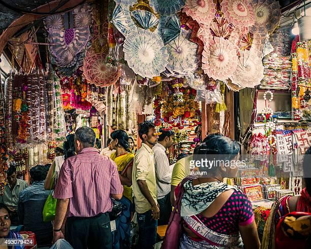 Old city bazaar in Jaipur Rajasthan India