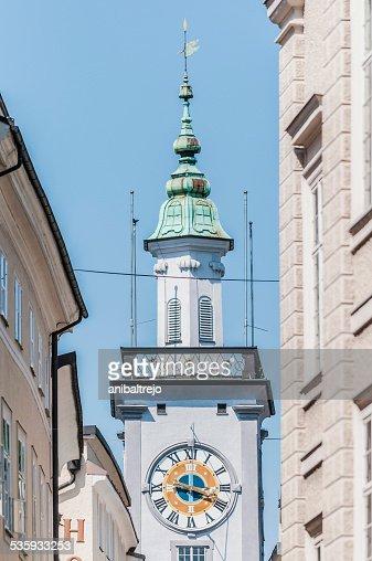 Old City Hall (Altes Rathaus) at Salzburg, Austria : Stock Photo