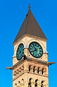 Old City Hall Clock Tower in Toronto,Canada
