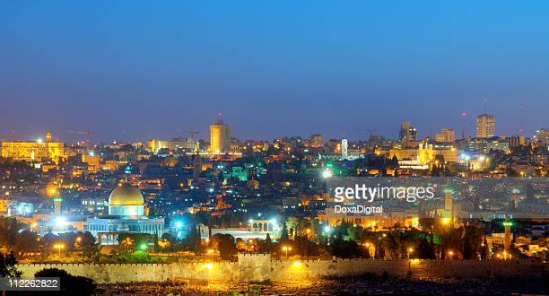 Old City Jerusalem at Night