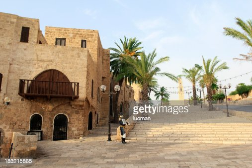 Old city of Jaffo in Tel Aviv