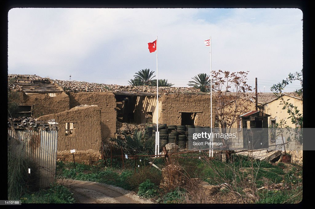 Old city walls stand January 6 1998 near Nicosia Cyprus Early in 1998 Cyprus will engage in negotiations regarding its entrance into the European...