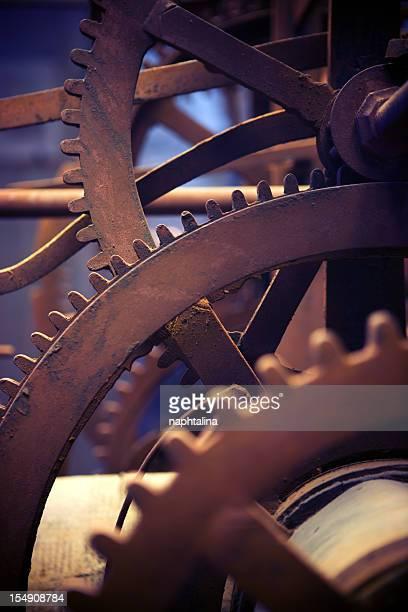 Old clock Gears