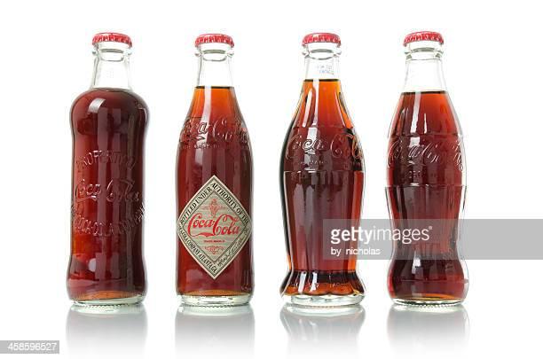 Old Coca-Cola bottles