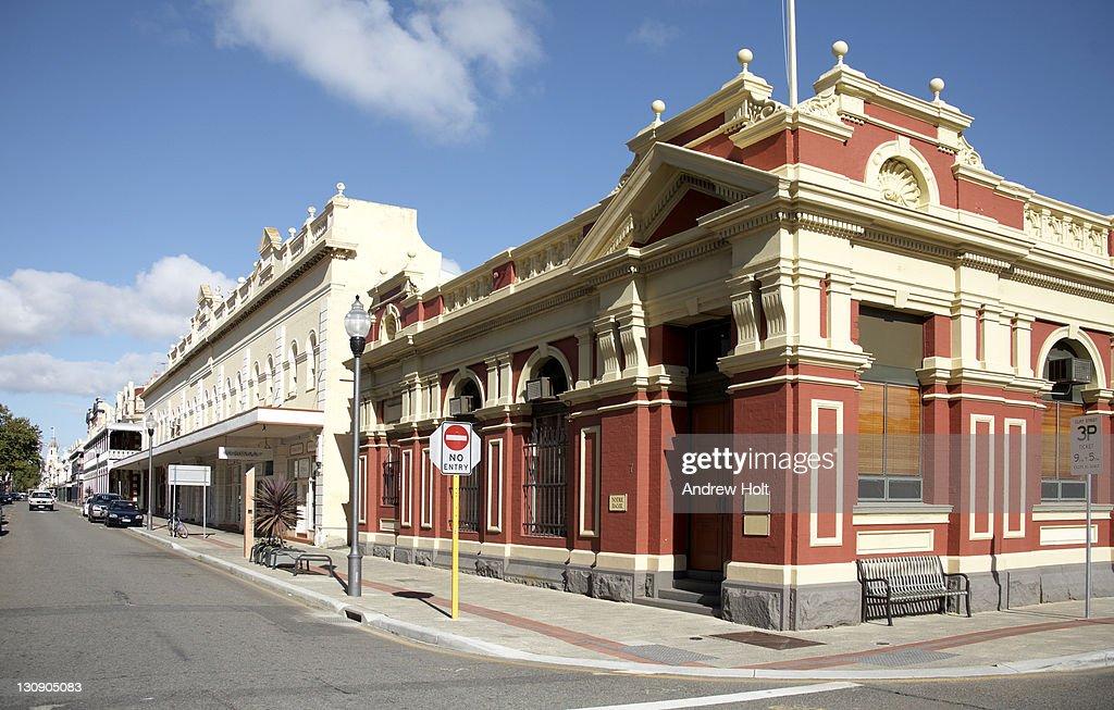 Old colonial buildings in Fremantle, Perth