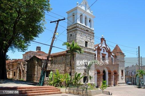 Old Colonial Church in Santo Domingo