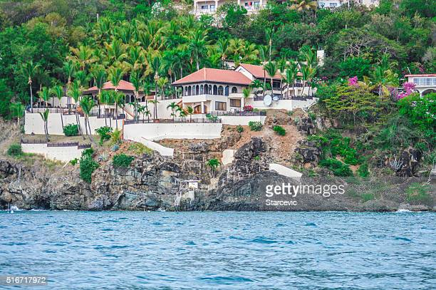 Old Colonial Mansion in the Virgin Islands