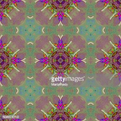 Old colorful Persian carpet. : Stock Photo
