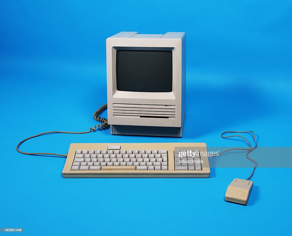 Old Computer : Stock Photo