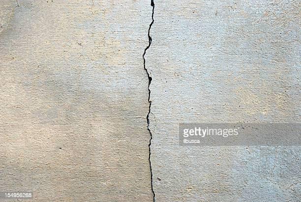 texture de mur de béton fissuré