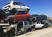 Scrap Metal, Garbage, Car Accident, Crash, Environment