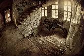 Old dark ruin