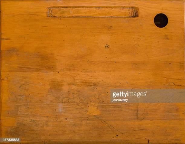 Vecchia scrivania superficie
