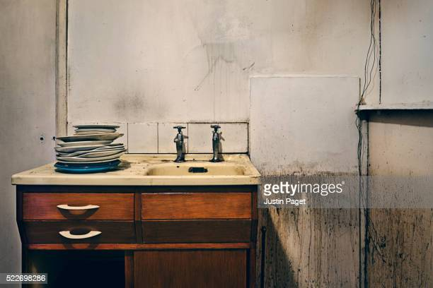 Old dirty kitchen