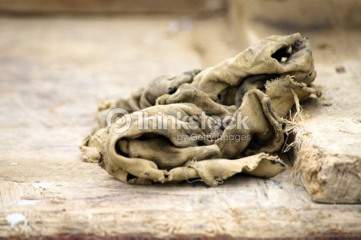 2d2430d8ab Old Dirty Rag Stock Photo - Thinkstock