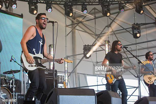 Old Dominion performs on stage during the Watershed Music Festival at The Gorge on August 3 2014 in George Washington