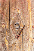 Old Door in Canillo, Andorra.