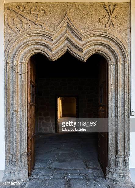 Old door, time of the Catholic Kings of Spain.