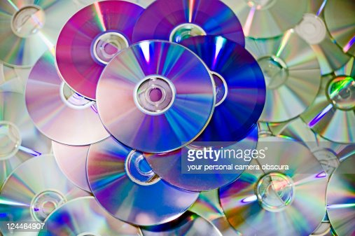 Old dvds and cds