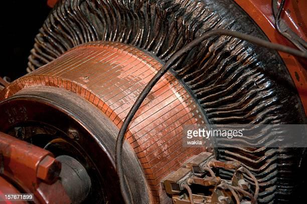 old engine - Alter motor mit Kupferspule