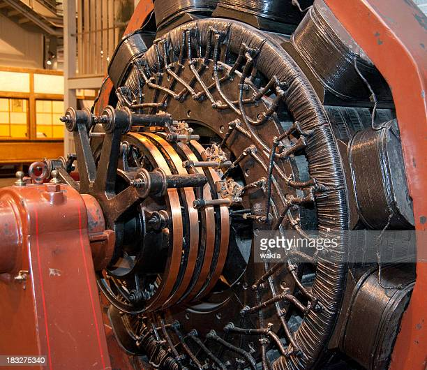 old engine for airplane - Flugezugmotor